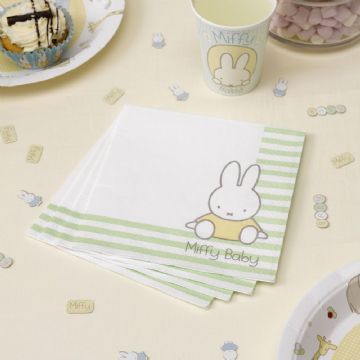 Baby Miffy Paper Napkins - pack of 16